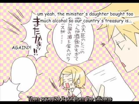 Daughter of Evil ~Happy Ver.~ English Lyrics 【Kagamine Rin/Len】【VOCALOID PV】