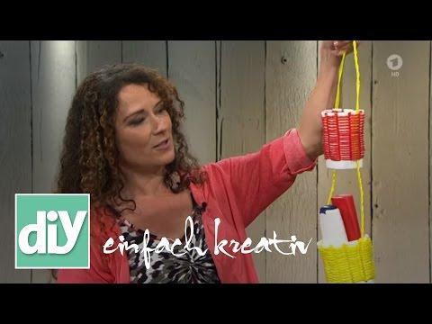 Utensilienkörbchen für die Gartendusche | DIY einfach kreativ