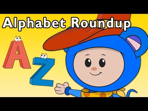 Cowboy Learning Game | Alphabet Roundup and More | Baby Songs from Mother Goose Club!