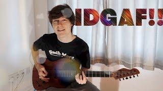 Download Lagu IDGAF - DUA LIPA - Guitar Cover Gratis STAFABAND