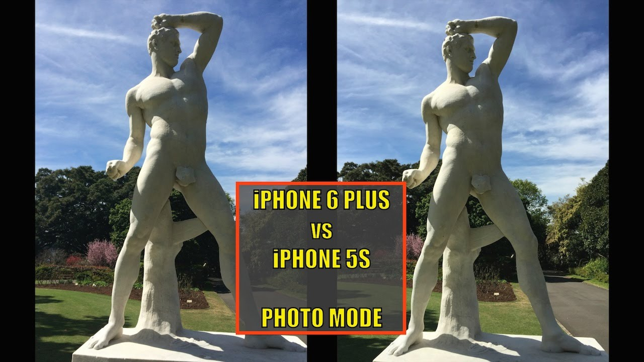 Camera Iphone 6 vs 5s Iphone 6 Plus vs Iphone 5s