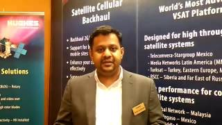 Interaction with Shivaji Chatterjee, Sr Vice President Hughes Communications Ind #CommunicAsia2016