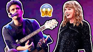 John Mayer Gets Candid about Taylor Swift's Reputation Album in Concert