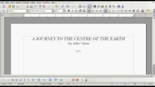 openoffice ebook template