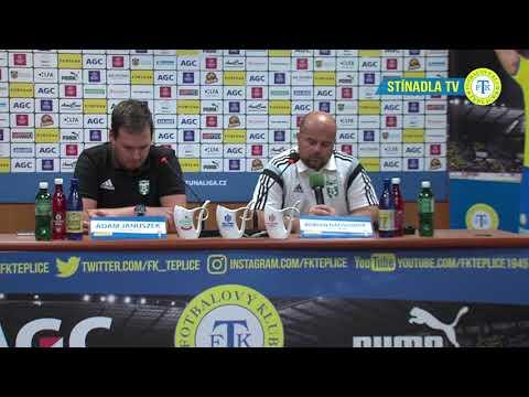 Tisková konference hostujícího týmu po utkání Teplice - Karviná (16.9.2018)