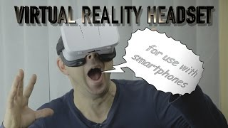 VIRTUAL REALITY, VR, headset for use with smartphones