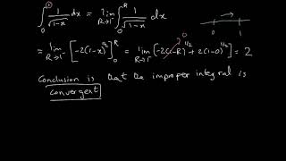 Improper Integrals - Where the discontinuity in within the limits of the integral