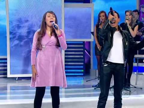 Carlla Roberta cantando Agnus Dei com Jotta A. - Jovens Talentos...
