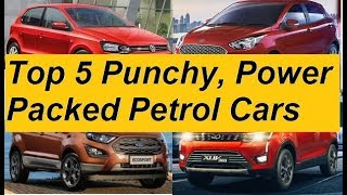 Most Powerful and Fun to Drive Petrol Cars of India in Mass Market