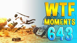 TODAY'S PUBG FUNNY/WTF MOMENTS EP 643