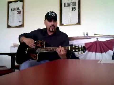 TONY BYROADS live acoustic of his song CHANGES