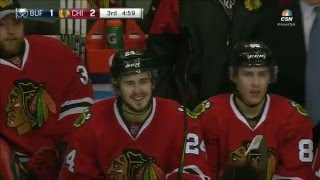 Phillip Danault first NHL Goal vs. Buffalo Sabres. January 8th 2016 (HD)