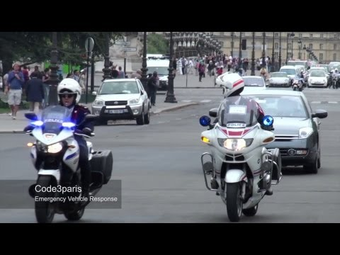 Police Motorcycle Escort VIP (X4) - Paris