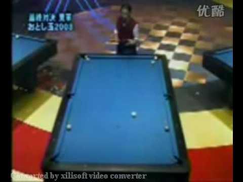 Amazing Trickshot Played By Japanese Old Man!