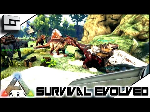 ARK: Survival Evolved - WAR DAY! S4E22 ( The Center Map Gameplay )