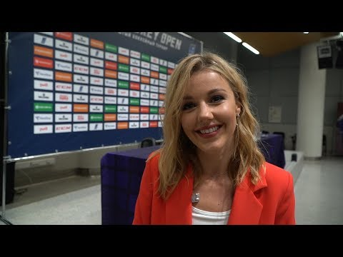 """""""Я очень люблю лёд!"""": Юлианна Караулова - о выступлении на хоккее в Сочи"""