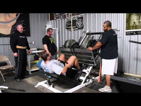 elitefts.com — The Last Set: The Mystery Man Leg Press Image 1