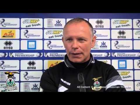 Inverness CT: John Hughes Match Reaction v St Johnstone 20/09/2014