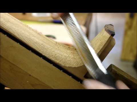 Guitar Neck Carving