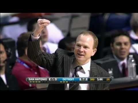Pistons Announcers Speechless after Lawrence Frank calls out Refs