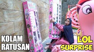 NUMPAHIN LOL SURPRISE TERBARU KE KOLAM RENANG😱 Amazing!! (part 1)