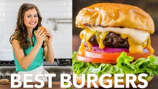 Ultimate Juicy Burger Recipe - Perfect Burgers Every Time 🍔