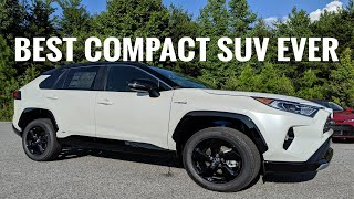 This Is The Best Compact SUV EVER 2019 Toyota Rav4 XSE Hybrid