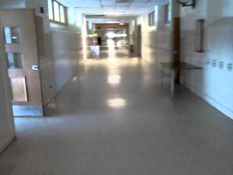 Old Portage Central High School before it was torn down in 2011