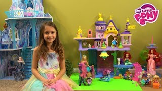 Princess Story: My Little Pony Daycare for Little Princesses with MLP Castle, Princess Barbie Toys