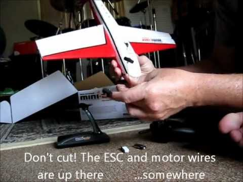 UNBOXING Mini-Air Extra 300 4-Channel Brushed RC air
