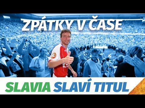 Zpátky v čase - Slavia slaví titul v novém Edenu