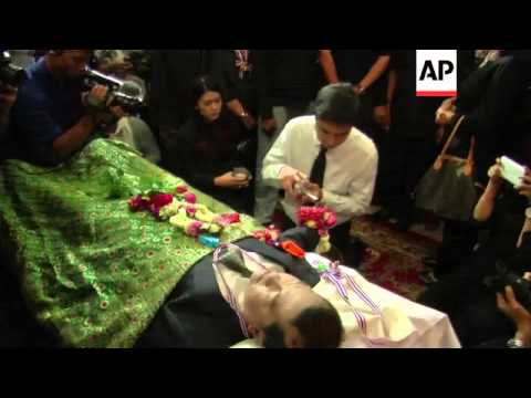 Funeral of protester shot dead on Sunday