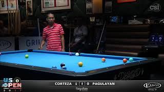 2017 US Open 8-Ball: Corteza vs Pagulayan