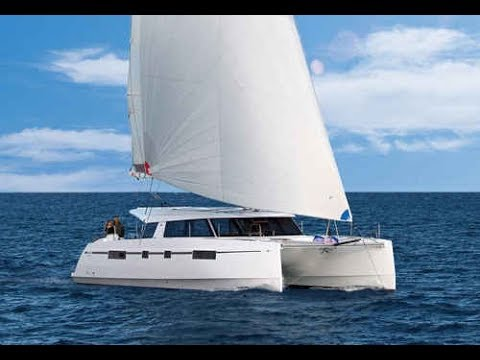 Bavaria Nautitech Open 46 catamaran under sail premiere