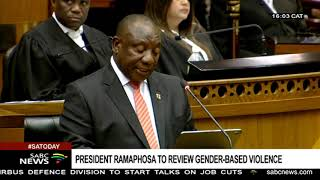 #SONA2020 | Children's rights groups welcome Ramaphosa's move on GBV