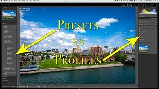 Lightroom Presets vs Profiles