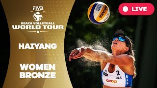 Haiyang 3-Star - 2018 FIVB Beach Volleyball World Tour - Women Bronze Medal Match
