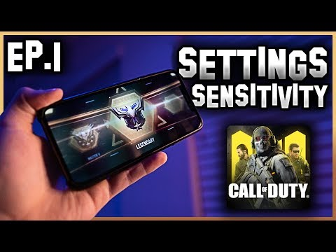 Road To Legendary ON A PHONE (Ep. 1) Settings + Sensitivity + Handcam | Call of Duty Mobile