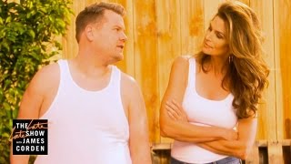Cindy Crawford's 1992 Pepsi Commercial Parody w/ James Corden