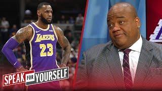 Jason Whitlock believes LeBron is 'always running' towards dysfunction | NBA | SPEAK FOR YOURSELF