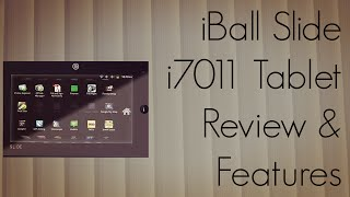 iBall Slide i7011 Tablet Review - Features Touch UI Camera Video Playback Demo