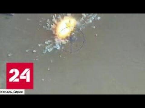 Боевиков вытеснили из Абу-Кемаля в пустыню и на берег Евфрата. Эксклюзивный репортаж Евгения Подду…