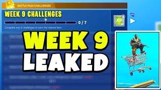 """FORTNITE """"WEEK 9 CHALLENGES"""" LEAKED!!"""