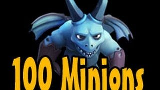 100 Minions Attack Clash Of Clans