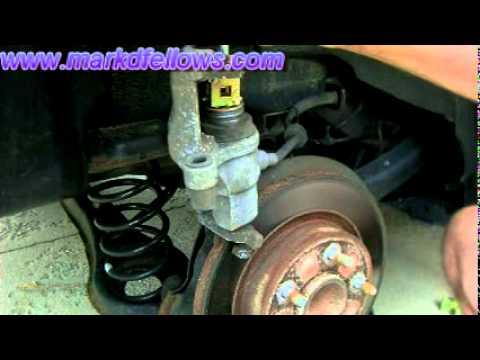 Back Brake Pad Replacment on 2006. Mazda 3
