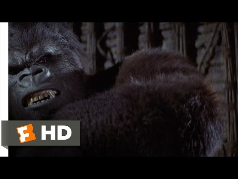 King Kong (6/9) Movie CLIP - Trapping the Beast (1976) HD