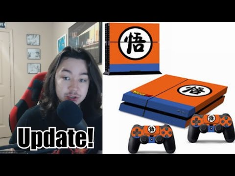 Where's Ya Been? DBZ PS4 Skin For Christmas! Dragon Ball Super, Let's Play Channel and More!
