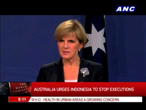 Australia urges Indonesia to stop executions
