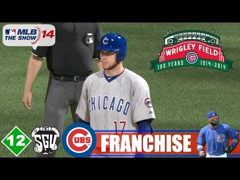 MLB 14: The Show (PS4) Chicago Cubs Franchise - EP12 (vs White Sox)
