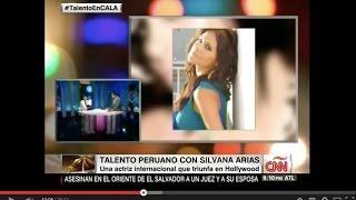 Silvana Arias en Cala por CNN